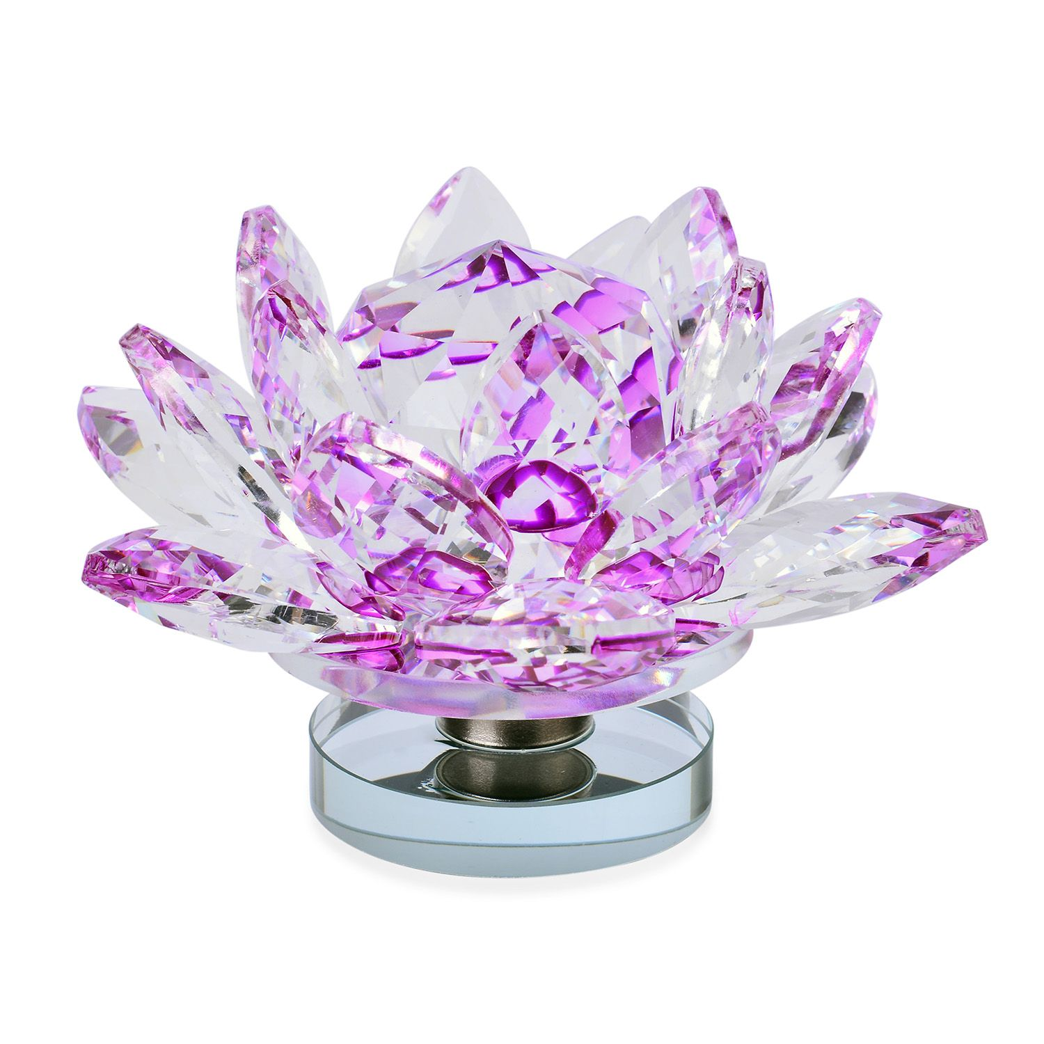 Home Decorative Crystal Lotus Flower Tgw 2345000 Cts Shop Lc