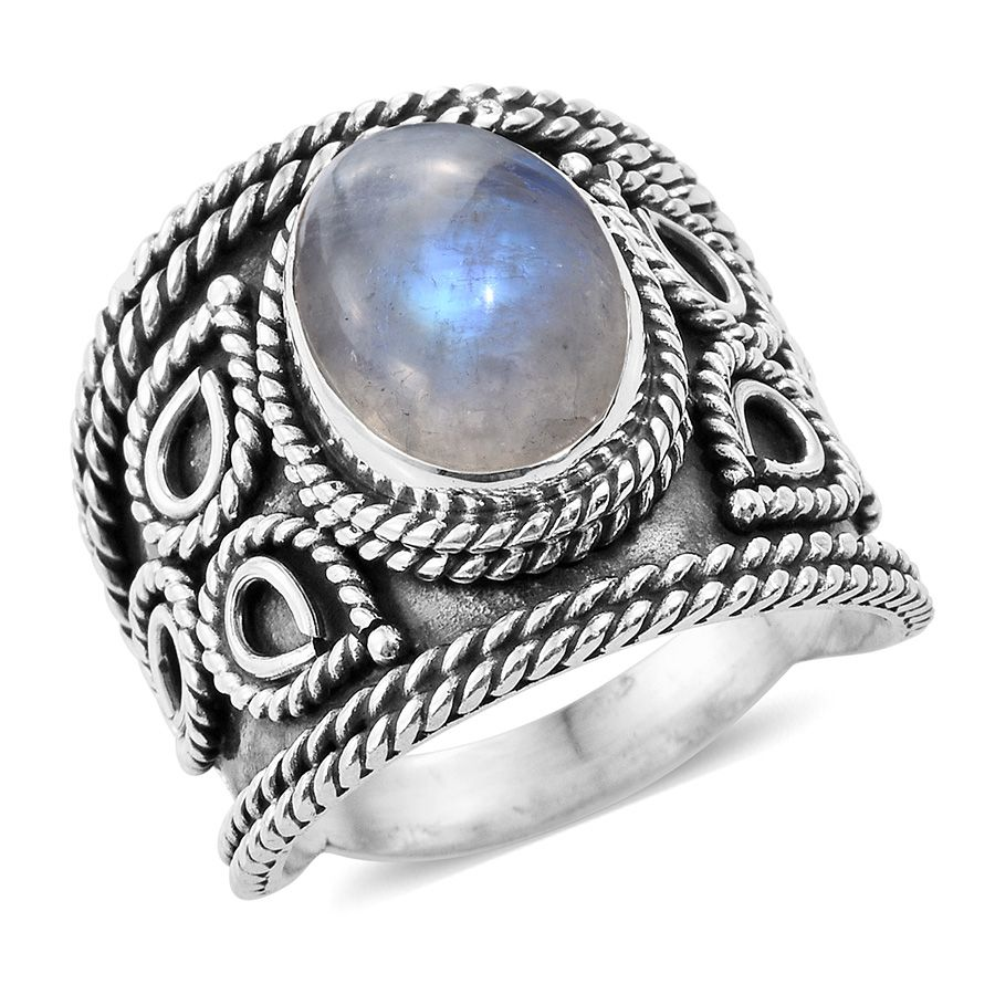 rings larimar sterling in silver artisan crafted ring index size