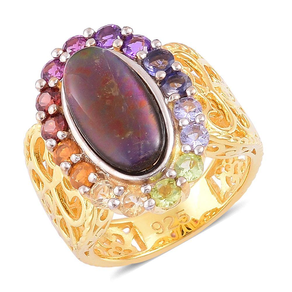 Ammolite Ring Ebay