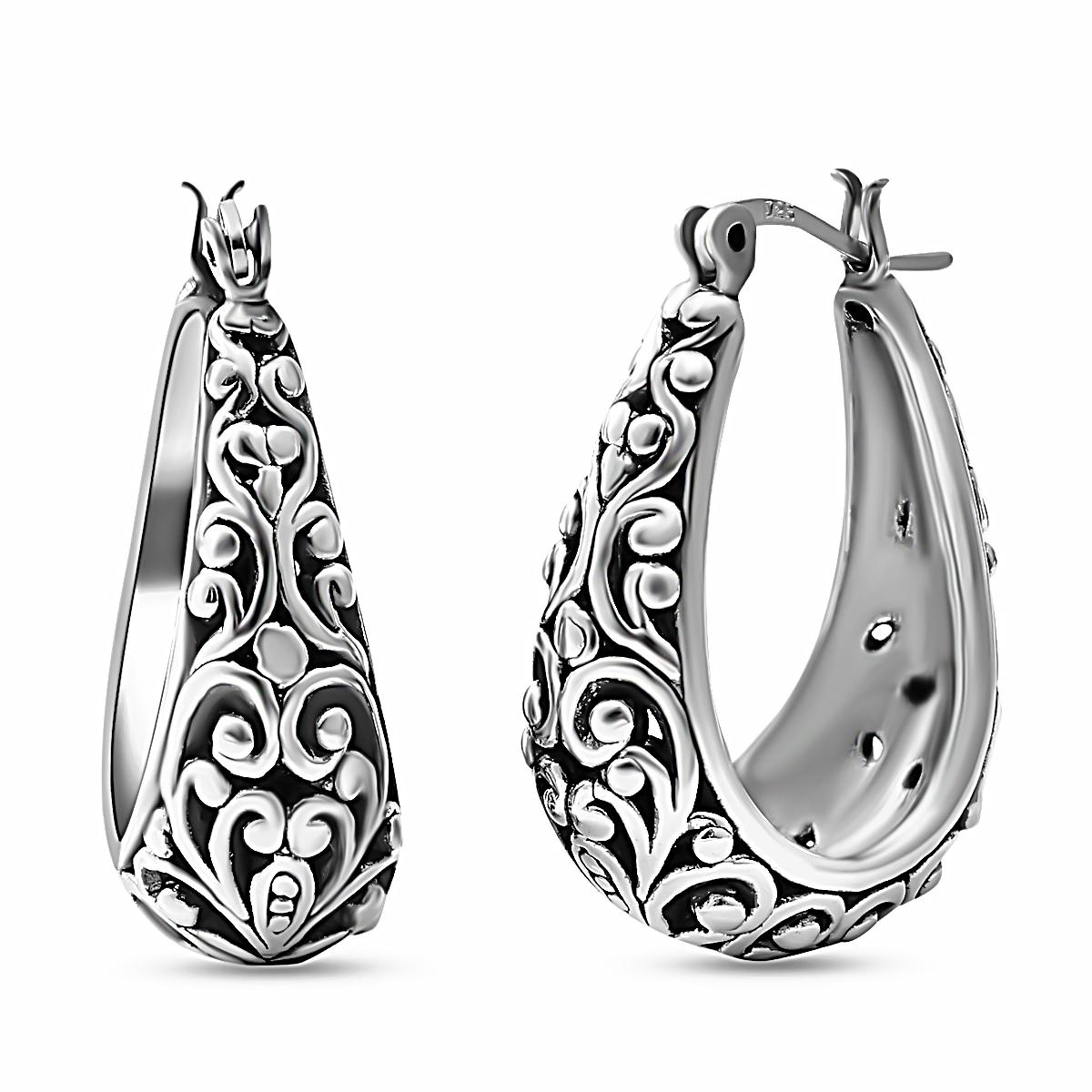 7897bd40cfeab Basket Hoop Earrings - Best All Earring Photos Kamilmaciol.Com