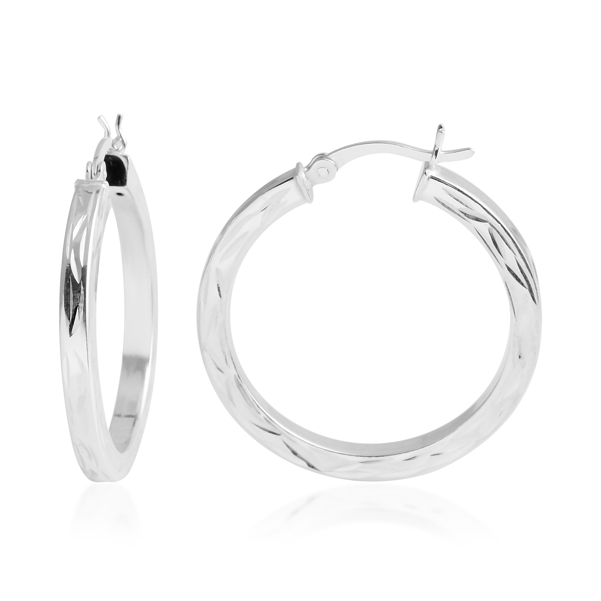 3d663e344 Women's 925 Sterling Silver Hoops Hoop Earrings for Women Jewelry | eBay
