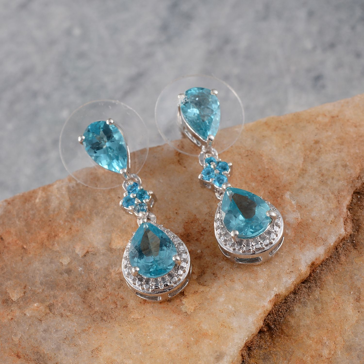 detachable stud gold loading is earring earrings halo itm image yellow amp jacket diamond apatite ear