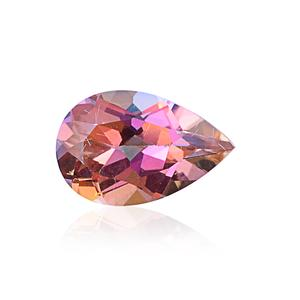 Northern Lights Ecstasy Topaz (Pear 12x8 mm) TGW 3.21 cts.