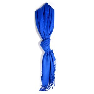 Royal Blue 100% Viscose Scarf (62x30 in)