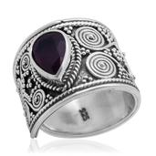 Bali Legacy Collection Niassa Ruby Sterling Silver Ring (Size 8.0) TGW 2.030 cts.