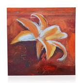 Lily Texturized Print (20x20 in)