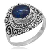 Bali Legacy Collection Australian Boulder Opal Sterling Silver Ring (Size 6.0) TGW 1.350 cts.