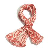 Red 100% Cotton Scarf (68x45 in)