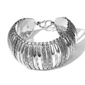 Tribal Collection of India Sterling Silver Bracelet (7.50 In) (91 g)