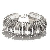 Tribal Collection of India Sterling Silver Bracelet (7.5 In, 78 g)