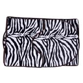 Zebra Ultra Soft 3 Piece Bath Mat Set
