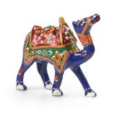 Handcrafted Decorative Wood Camel