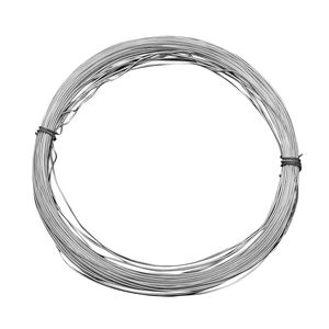Gem Workshop Silvertone Wire (Approx 10 mtr, 0.06 mm)