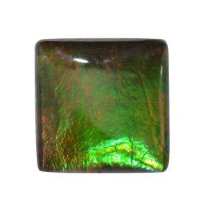 Ammolite (Sqr 8 mm) TGW 1.75 cts.