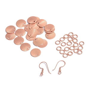Gem Workshop Rosetone Dangling Earrings Kit