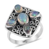 Artisan Crafted Ethiopian Welo Opal Sterling Silver Ring (Size 7.0) TGW 1.830 cts.