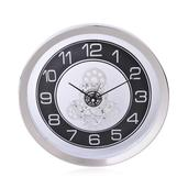 Silver Wall Clock (10x10 in)