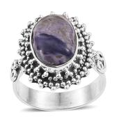 Utah Tiffany Stone Sterling Silver Ring (Size 8.0) TGW 4.880 cts.