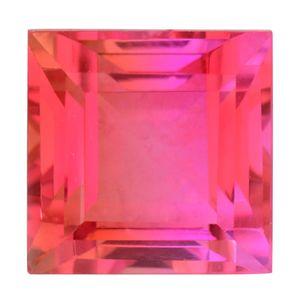 Rosy Pink Quartz (Sqr 13 mm) TGW 12.80 Cts.
