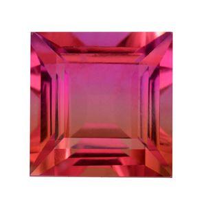Rosy Pink Quartz (Sqr 15 mm) T.GW 17.91 TGW 17.91 cts.
