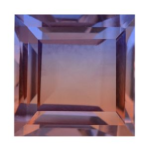 Midnight Cocoa Quartz (Sqr 14 mm) TGW 14.51 cts.