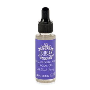 Cougar Beauty Hyaluronic Acid Facial Oil with Cloud Berry 1.05 fl oz