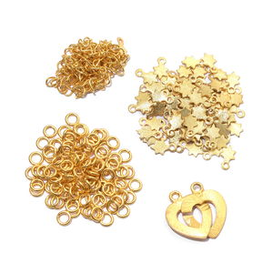 LC DIY Goldtone Star Charm Bracelet Kit