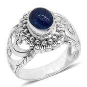 Bali Legacy Collection Tanzanite Sterling Silver Ring (Size 7.0) TGW 2.670 cts.
