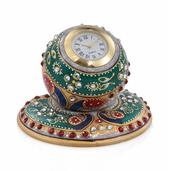 Handcrafted Marble Round Shape Watch