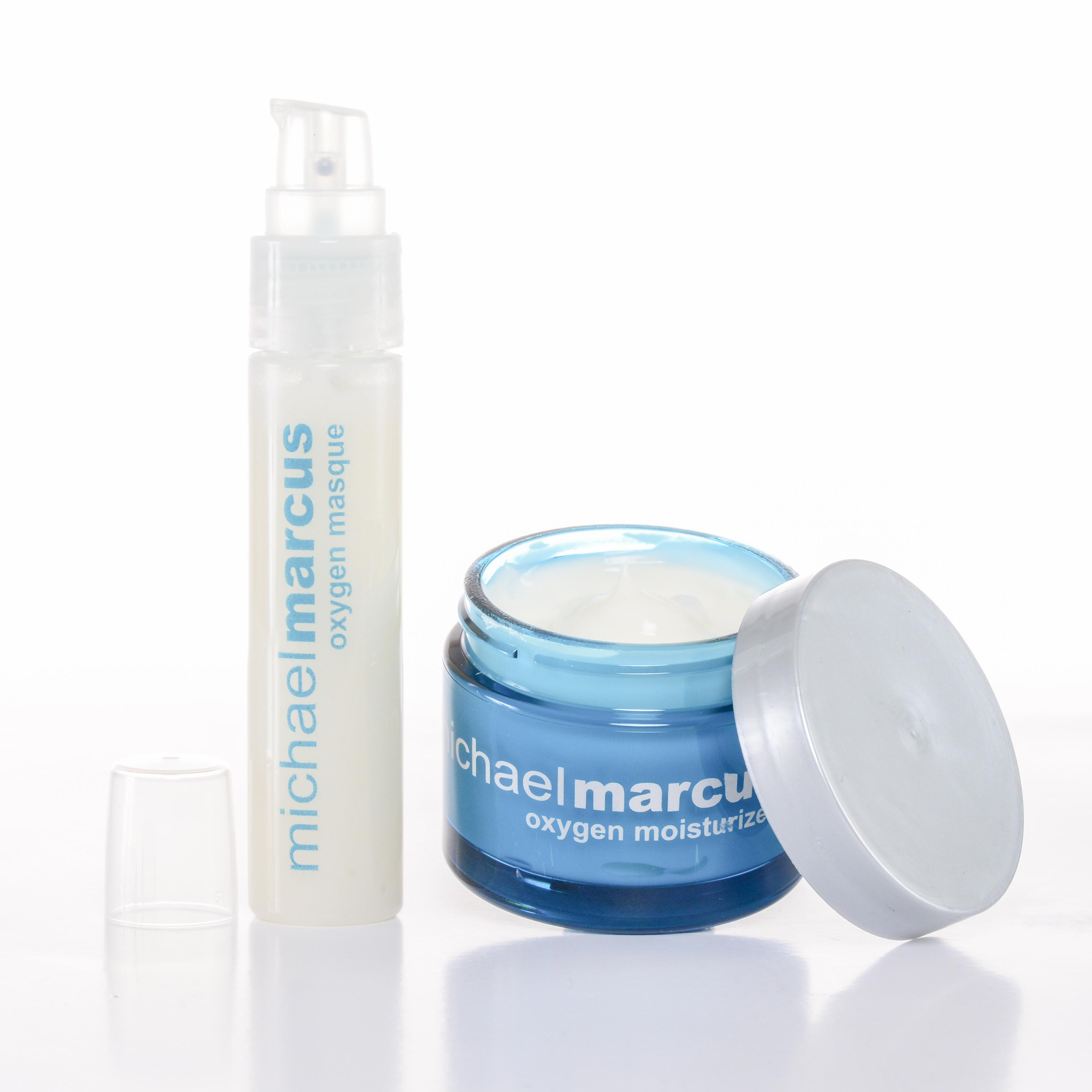 Michael Marcus Oxygen Duo-Masque(1 oz) and Moisturizer (1.7 oz)