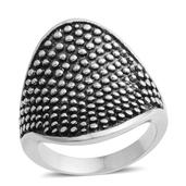 Stainless Steel Women's Ring (Size 8.0)