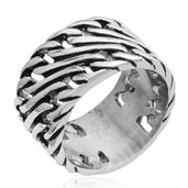 Stainless Steel Men's Ring (Size 8.5)