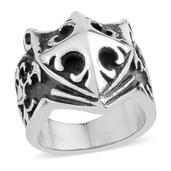 Stainless Steel Men's Ring (Size 8.0)