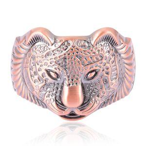 Rosetone Leopard Face Bangle (6.50 in)