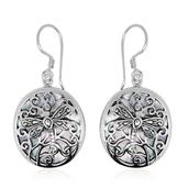 Bali Legacy Collection Mother of Pearl Sterling Silver Earrings