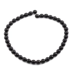 LC DIY Black Agate Bead Strand (16 in) TGW 279.00 cts.