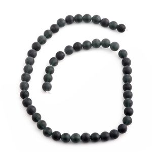 Gem Workshop Black Agate Bead Strand (15 in) Total Gem Stone Weight ¤.00 Carat