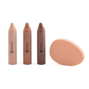 MGI Face Trace Contour and Highlight Set with Bonus Blending Sponge