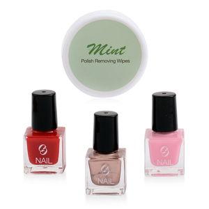 MGI Nail Classics with Bonus Nail Polish Removing Wipes