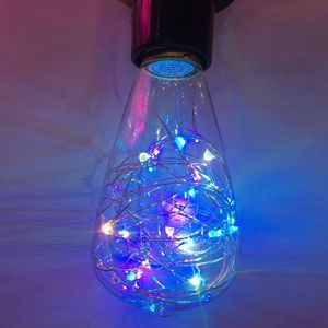 LED Decorative Multi Color String Lights in Bulb