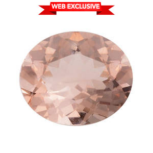 Marropino Morganite (Ovl 12x10 mm) TGW 3.75 cts.