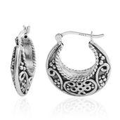 Sterling Silver Hoop Earrings (3.8 g)