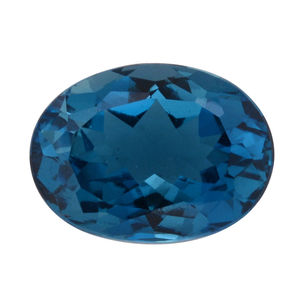 London Blue Topaz (Ovl 16x12 mm) TGW 10.01 cts.