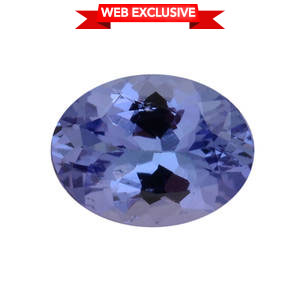 Tanzanite (Ovl 8x6 mm) TGW 1.11 cts.
