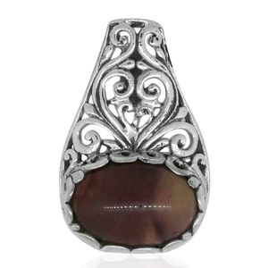 Bali Legacy Collection Kennedy Range Mookaite Sterling Silver Pendant without Chain TGW 5.33 cts.
