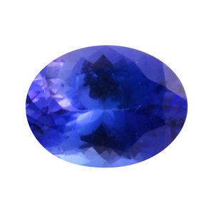 Tanzanite (Oval 9x7 mm 3A) TGW 1.75 cts.