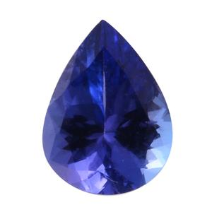 Tanzanite Pear 8x6 mm 3A TGW 0.94 Cts.