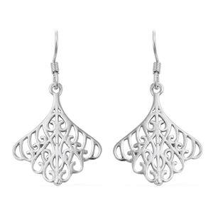 Sterling Silver Openwork Earrings (3.5 g)