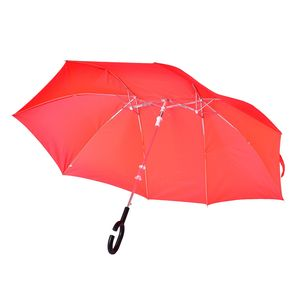 Red Couple Umbrella in One Holder (31.5 in)