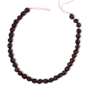 Gem Workshop Mozambique Garnet Beads Strand (15 in) TGW 413.00 cts.